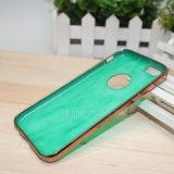 Geval van de Telefoon van de luxe het Marmeren Jade Gegalvaniseerde voor iPhone 6/6s