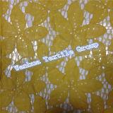 Nuovo merletto ricamato del cotone 2016 per abito