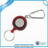 Förderndes Geschenk-Quadrat einziehbare Identifikation-Abzeichen-Bandspule