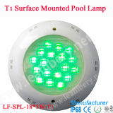 Nouveau RVB Color Changing DEL Swimming Pool Lamp, IP68 54W DEL Underwater Pool Lamp, Surface Mounted Pool Lamp