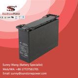 batterie terminale de cycle de 12V 75ah d'énergie solaire de l'avant profond AGM de batterie d'accumulateurs