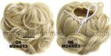 Горячий продавая Chignon шариков бутонов парик головного курчавый синтетический