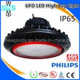 Luz ligera 100W de la bahía de Highbay LED LED del precio de fábrica alta