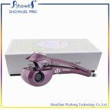 Materiais do Hairdressing do encrespador de cabelo de Showliss PRO LCD e ferro de ondulação automático do cabelo do equipamento