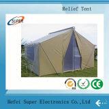 Acier galvanisé par offre d'usine deux tentes de secours en cas de catastrophe de couche