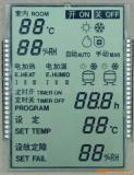 Schwarze Hintergrund Stn Höhenruder LCD-Bildschirmanzeige