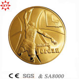 Fabbrica Direct Sale Antique Gold 3D Metal Coin