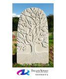 현대 주문을 받아서 만들어진 성격 돌 손에 의하여 새겨지는 장식적인 묘지 기념물