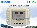 Suoer 최신 판매 공장 가격 고품질 (ST-G1220와) 가정 사용을%s 태양 관제사 12V 20A 태양 책임 관제사