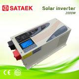 변환장치 AC 쪼개지는 고능률 순수한 사인 파동 변환장치 48V DC 6000W 태양 변환장치 파키스탄에 있는 태양 팬 가격--Ella
