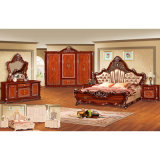 Klassisches Bett für Hauptmöbel und Hotel-Möbel (W805A)