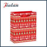 PAPIERBEUTEL des Weihnachtenanpassen gedruckten Einkaufen-Träger-Geschenk-Papier4c