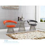 特別なデザイン革ステンレス鋼フレームのホテルの椅子(HW-YH305C)