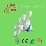 Lâmpada fluorescente de poupança de energia das lâmpadas CFL da flor (VLC-FLRR-105W)