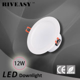 12W 4 luz del proyector LED de la pulgada LED Downlight con la luz de techo integrada del programa piloto LED de Ce&RoHS