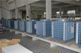 Edificio comercial usar la potencia 12kw, 19kw, 35kw, 70kw, calentador del Save70% de agua monobloque de la pompa de calor de 105kw hacia fuera 60deg c Dhw 12kw