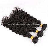 最上質の加工されていない100%の人間の毛髪の拡張ブラジルのバージンの人間の毛髪