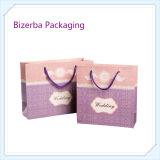 Sac de papier de empaquetage réutilisé par mode de luxe chaude de cadeau (BP-BC-0002)