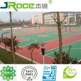 BuntMultisport Gebrauch-konkurrenzfähiger Preis-Basketballplatz