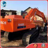 Máquina escavadora usada Japão barata de reconstrução nova de Hitachi Ex200-3 para o projeto pesado
