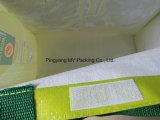 Cmykの印刷によってリサイクルされるPPによって編まれる買物をするトートバック