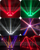 Spin Beam Light 9PCS 10W 4in1 Mini LED Moving Head Spider Light