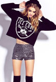 Custom por atacado Crop Sweatshirts para Women (ELTHSJ-863)