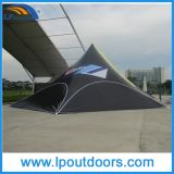 16X21m Outdoor Double Pole Spider Party Star Shade