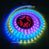 Tira de color ideal vendedora caliente de SMD5050 WS2811 los 7.2W/M LED
