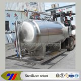 Water completamente automatico Immersion Sterilizer Retort per Canned Food