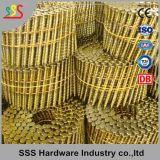 Clavo de la bobina de la punta de diamante para el arma del fabricante de clavos de la bobina