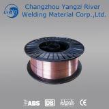 """Alambre sólido 0.045 del MIG del cobre de Aws A5.18 Er70s-6 """" (1.2m m)"""