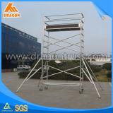 Andamio usado aluminio, sistema del andamio, andamio para la venta