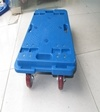 черепаха Hand Trolley 150kgs Splicing с PVC Wheel Red