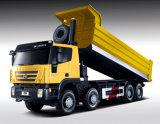 최신 Genlyon 8X4 380HP 쓰레기꾼 트럭