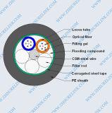 Cabo ótico da fibra blindada de aço da manutenção programada da fita