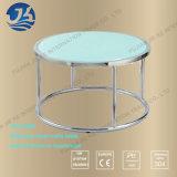 파란 색깔 스테인리스 둥근 커피용 탁자 (JK-A1003)