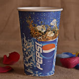 taza de papel impresa aduana de la bebida fría de 8oz 12oz 16oz 20oz
