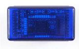 Lecteur de code automatique d'Elm327 Bluetooth OBD2 V2.1 bleu (doubles plaques)
