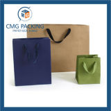 Мешок руки бумаги офсетной печати с Silk тесемкой