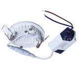 lâmpada redonda da iluminação de painel do diodo emissor de luz 3000-6500k 3 anos de garantia para a luz de teto Home