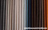 Tissus 100% de capitonnage à la maison de textile de polyester de velours