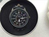 O molde o mais novo relógio personalizado da cinta de couro do projeto 2015
