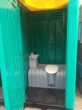 Het dubbele Mobiele die Toilet van de Laag door Plastiek wordt gemaakt