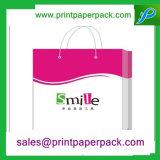 Bolsa de papel de embalaje cosmética avanzada de Kraft