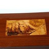 Коробка ювелирных изделий подарка поставкы высокого качества упаковывая