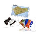Cartão gama alta feito sob encomenda do PVC, cartão do VIP (SZXY 629)