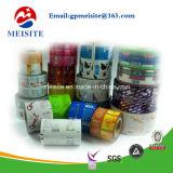 Полиэтиленовые пленки пакета еды в крене для обломоков