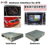 VideoInterface Cadillac Srx, Xts, de Navigatie van de Aanraking van de Verbetering van ATS (het SYSTEEM van het RICHTSNOER van de Auto), WiFi, BT, Mirrorlink, HD 1080P, Google van het Systeem van de Navigatie van de auto de Androïde