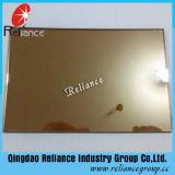 Vidro reflexivo dourado do vidro do vidro/luz reflexiva desobstruída/edifício com ISO9001
